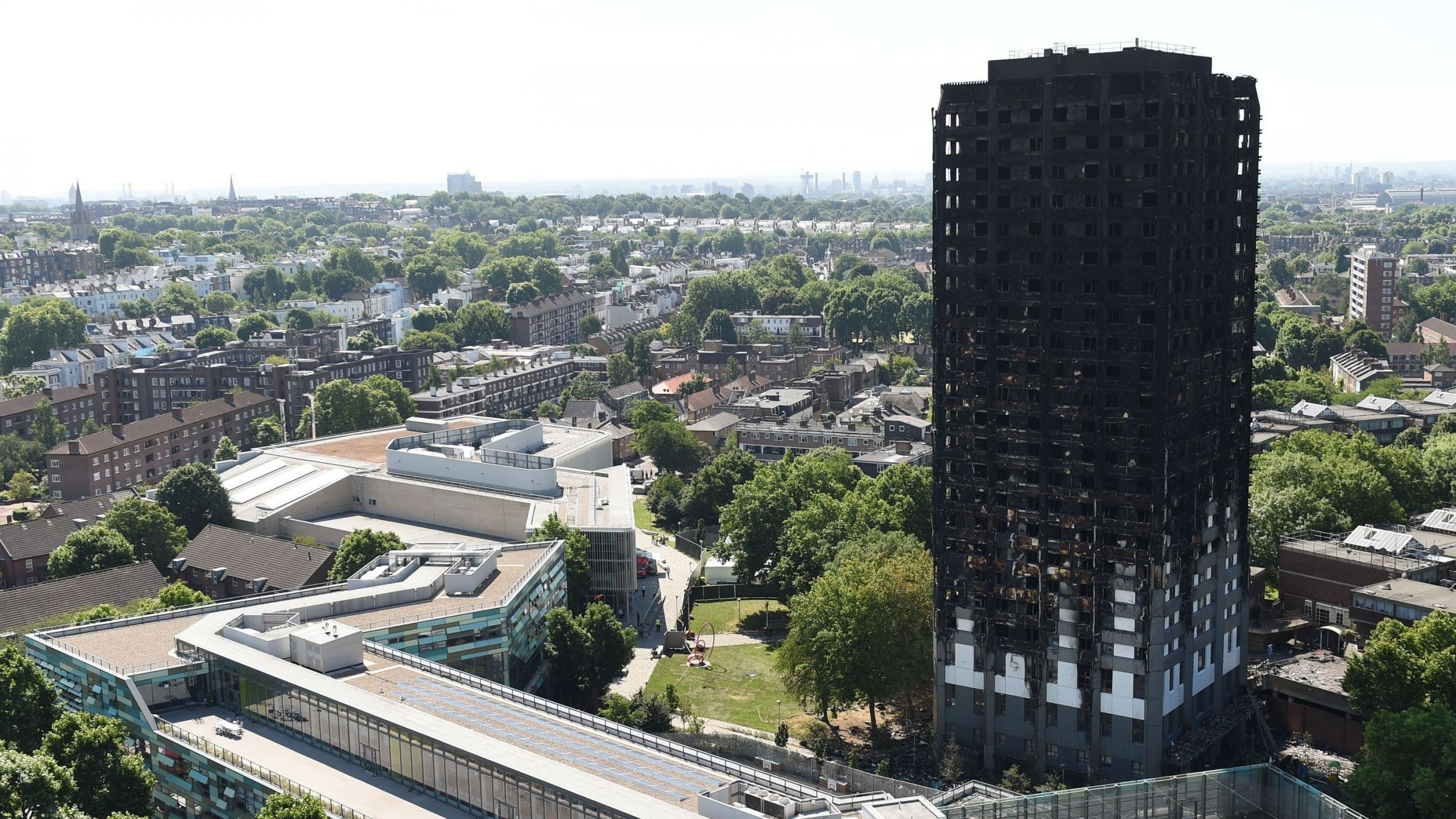 Theresa May: support for Grenfell fire victims was 'not good enough'
