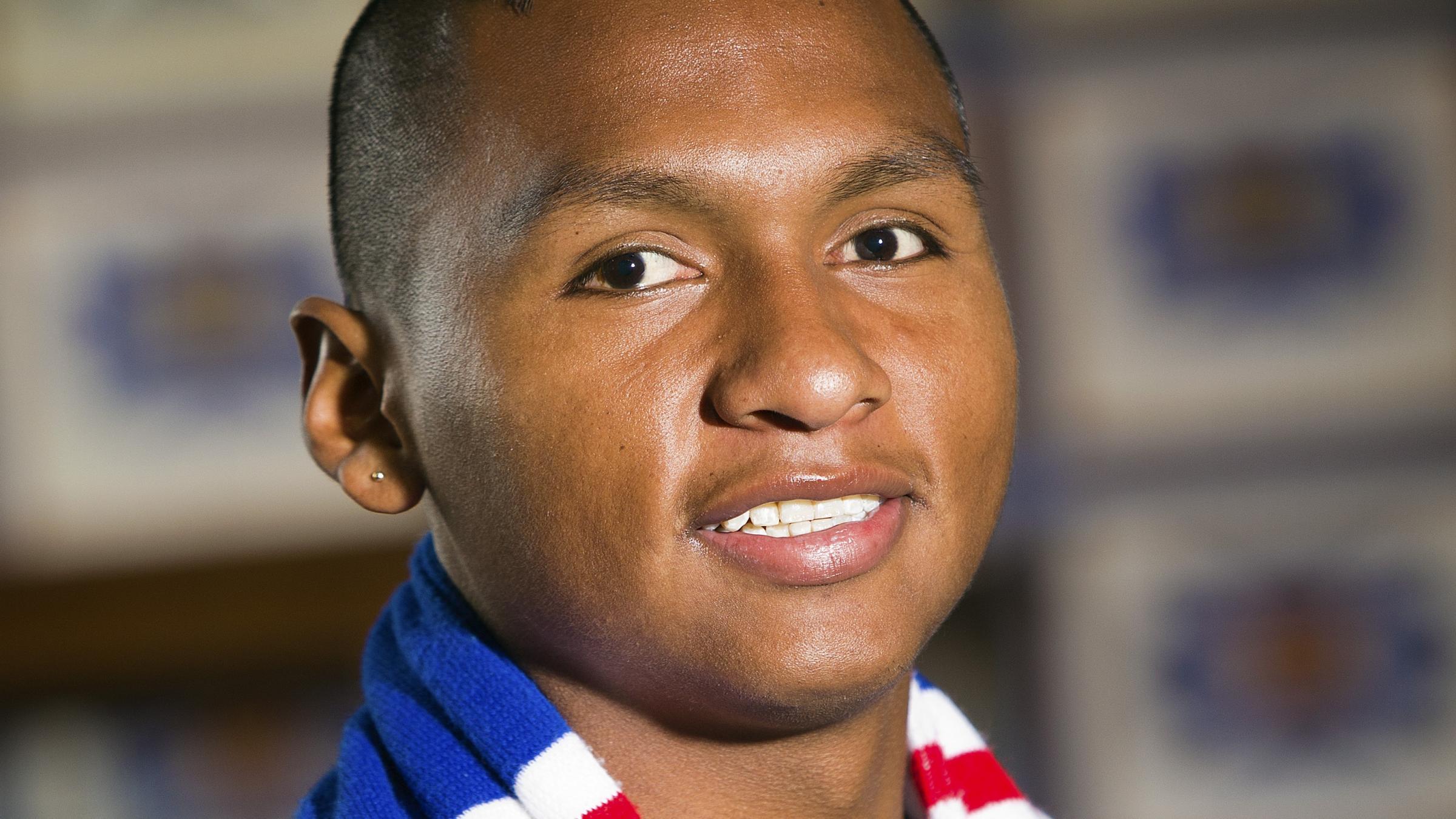Rangers complete signing of striker Alfredo Morelos